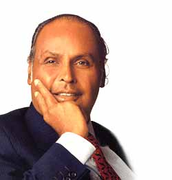 Dhirubhai Ambani (Founder of Reliance Industries)