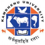Kamdhenu University Recruitment For Registrar & Other Posts 2019
